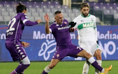 Sassuolo-Fiorentina, le probabili formazioni