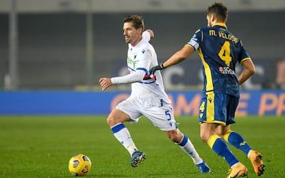Sampdoria-Verona, dove vedere la partita in tv