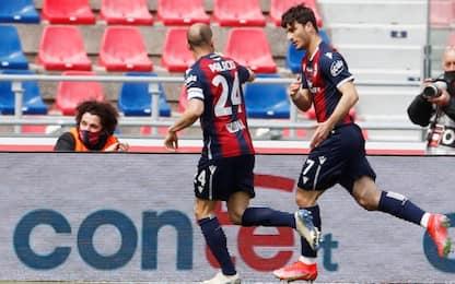 Bologna-Spezia 2-1 LIVE: accorcia Ismajli