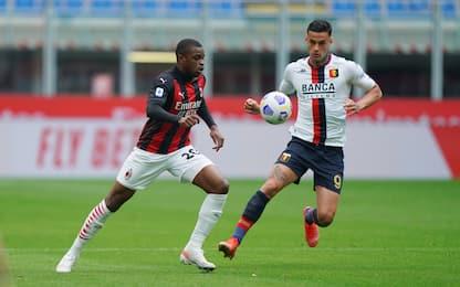 Milan-Genoa 1-1 LIVE: pareggia l'ex Destro