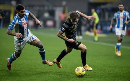 Napoli-Inter, dove vedere la partita in tv