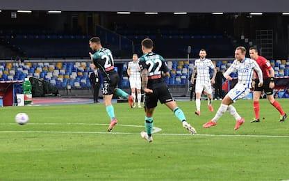 Napoli-Inter 1-1 LIVE: pari di Eriksen