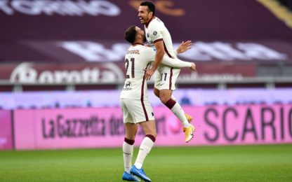 Torino-Roma 0-1 LIVE, gol di Borja Mayoral