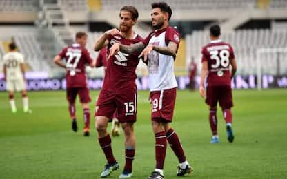 Torino-Roma 1-1 LIVE, pareggia Sanabria di testa