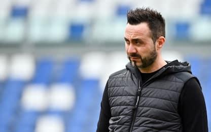 """De Zerbi: """"Non ho piacere a giocare con il Milan"""""""