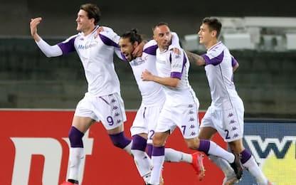 La Fiorentina vince e respira, cancellato ritiro