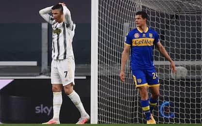 Juve-Parma 0-1 LIVE: segna Brugman