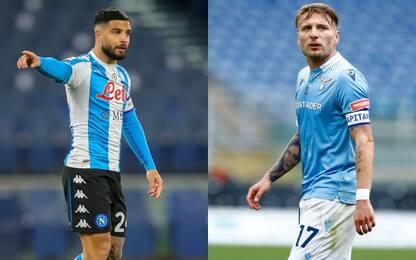 Napoli-Lazio per la Champions, il duello si ripete