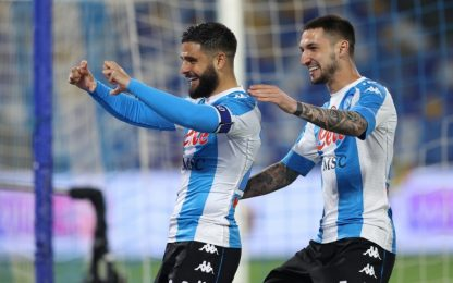 Napoli-Lazio 4-1 LIVE: accorcia Immobile