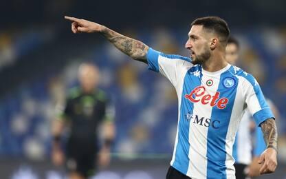 Napoli-Lazio 2-0 LIVE: raddoppia Politano