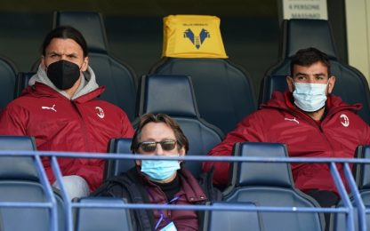 Milan, Ibra e Theo a parte. Recupera Bennacer