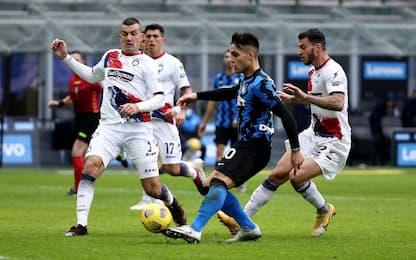 Crotone-Inter, dove vedere la partita in tv
