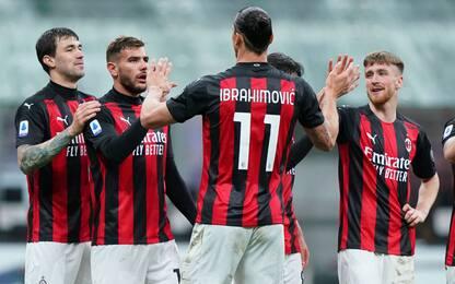 Il Milan torna a vincere ed è 2°, Benevento ko 2-0