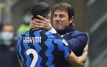 """Hakimi: """"Felice all'Inter, qui grazie a Conte"""""""