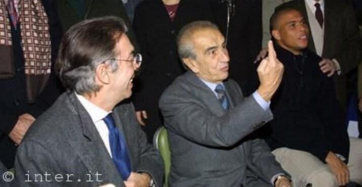 Massimo Moratti, Peppino Prisco e Ronaldo