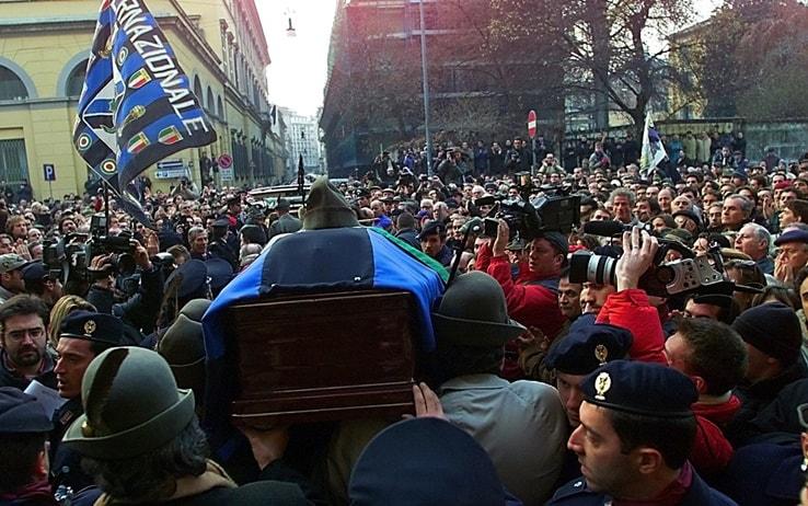 Il funerale di Peppino Prisco
