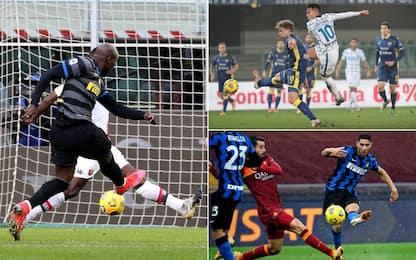 Inter, i 10 gol più belli in campionato. VIDEO
