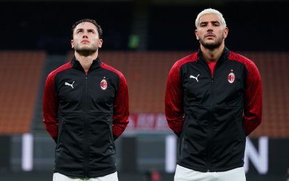 Calabria+Theo, frecce nel Milan ma out all'Europeo