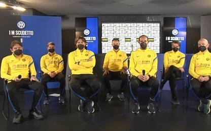 """Inter, il giorno dello staff: """"Emozione e gioia"""""""