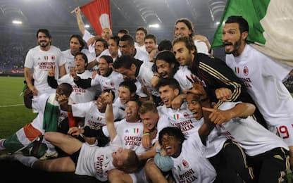 Milan, 10 anni fa lo scudetto: cosa fanno oggi?