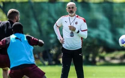 Pioli prova nuovo Milan, contro la Juve col 442?