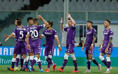 La Lazio frena la corsa Champions: 2-0 Fiorentina