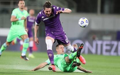 Fiorentina-Lazio 1-0 LIVE: la sblocca Vlahovic