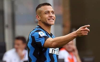 Inter-Samp 3-1 LIVE: doppietta di Sanchez