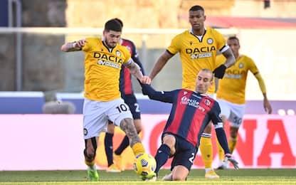 Udinese-Bologna, probabili: Okaka contro Palacio