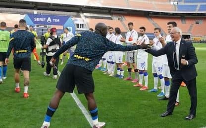 """Ranieri: """"Tributo mia idea, l'Inter lo meritava"""""""