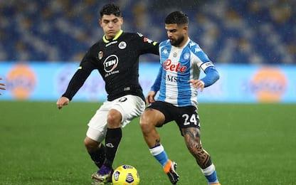 Spezia-Napoli, dove vedere la partita in tv