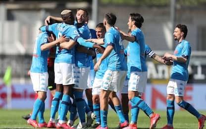 Osimhen show, 4-1 allo Spezia e Napoli al 2° posto