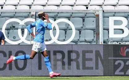 Spezia-Napoli 0-3 LIVE: doppietta di Osimhen