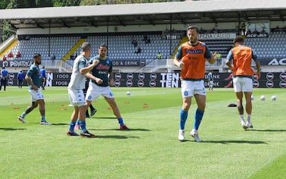 Spezia-Napoli 0-0 LIVE: Osimhen titolare