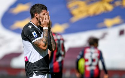 Magia De Paul, pari Orsolini: Udinese-Bologna 1-1