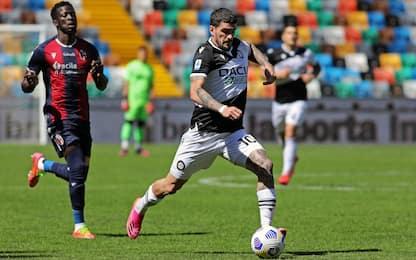 Udinese-Bologna 1-0 LIVE: magia di De Paul