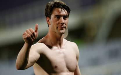 """Vlahovic: """"Orgogliosi, abbiamo vinto da squadra"""""""