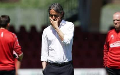 """F. Inzaghi: """"Ci sentiamo derubati di qualcosa"""""""