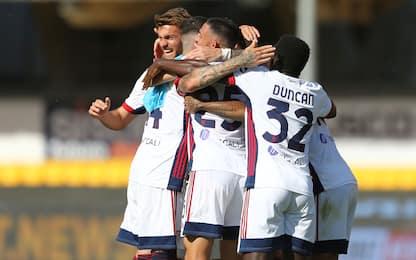 Colpo Cagliari, 3-1 al Benevento. Inzaghi nei guai