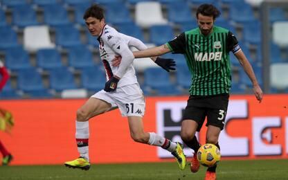 Genoa-Sassuolo, dove vedere la partita in tv