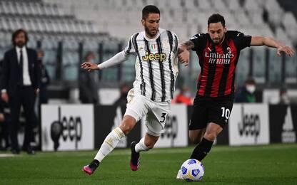 Juve-Milan 0-0 LIVE: tentativo di Brahim Diaz