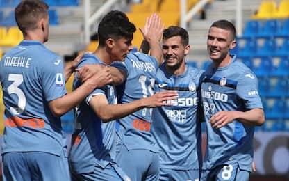 L'Atalanta si riprende il 2° posto: 5-2 al Parma