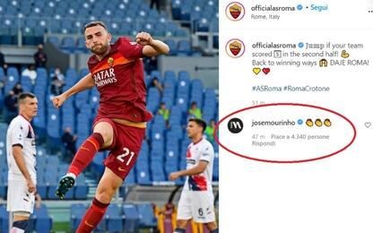 """Mou applaude la Roma. Fonseca: """"Il mio futuro..."""""""