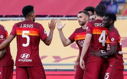 Roma-Crotone 3-0 LIVE: doppietta di Pellegrini