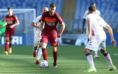 Roma-Crotone 0-0 LIVE: traversa di Borja Mayoral