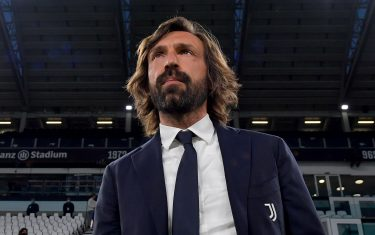 TURIN, ITALY - MAY 09: head coach of Juventus Andrea Pirlo looks on prior to the Serie A match between Juventus  and AC Milan at Allianz Stadium on May 09, 2021 in Turin, Italy. Sporting stadiums around Italy remain under strict restrictions due to the Coronavirus Pandemic as Government social distancing laws prohibit fans inside venues resulting in games being played behind closed doors. (Photo by Daniele Badolato - Juventus FC/Juventus FC via Getty Images)