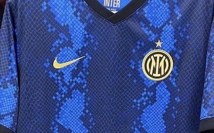 Inter a pelle di serpente, così la maglia 2021-22?