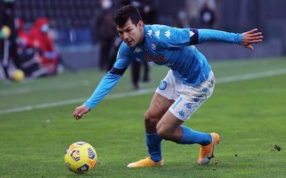 Napoli-Udinese 0-0 LIVE: Insigne ci prova da fuori