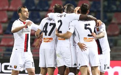 Vittoria e salvezza per il Genoa: Bologna ko 2-0