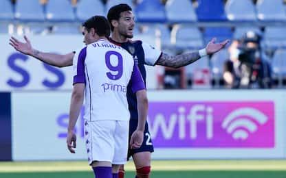 Cagliari-Fiorentina 0-0 LIVE: Joao Pedro spreca
